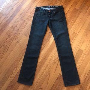Earnest Sewn straight leg jean size 28 black